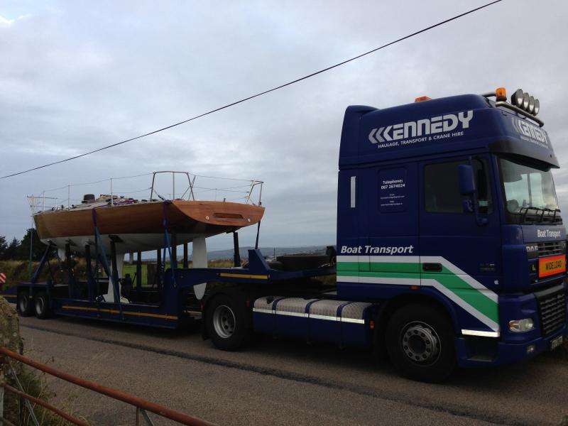 Transport haulage boat parts