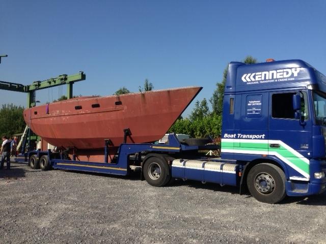 Transport haulage boat transport