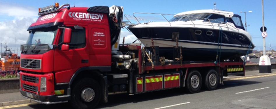Boat Transport in Ireland